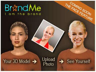 Brand Me for Shopping or Avatars