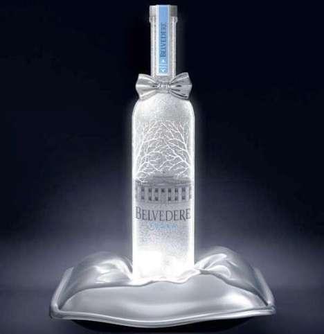 Bow-Tied Booze Bottles