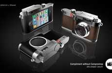 Luxury Smartphone Camera Cases - The Leica i9 is Designed for iPhone Shutterbugs