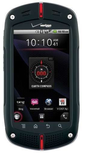 Rough and Tough Smartphones - The CASIO G'zOne Commando Can Survive in the Wilderness