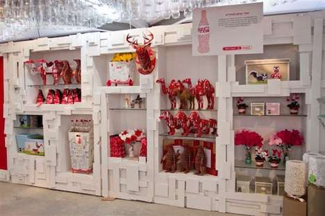 Recycle Awareness Shops - The Coca-Cola Israel Pop-Up Store Educates Visitors on Upcycled Products