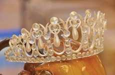 Sugary Royal Jewelry - Disney's Swan and Dolphin Resort Creates an Edible Tiara and Ring