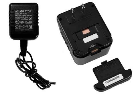 Outlet-Powered Spy Cams