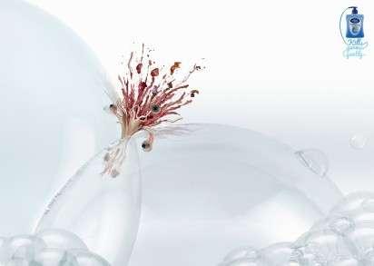 Bacteria-Killing Bubbles