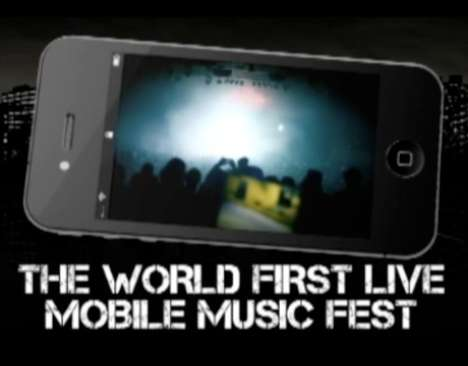 Interactive Mobile Music  - Zoo Records 'Hidden Live 2011' is the First Live Mobile Music Festival