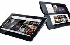Dual-Screen Touch Tablets - The Sony Tablet S1 and S2 Models for Fall Are Unveiled
