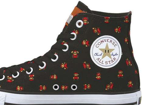 Geeky Gaming Sneakers - Converse Super Mario Bros Chuck Taylors Level Up Your Streetwear Game