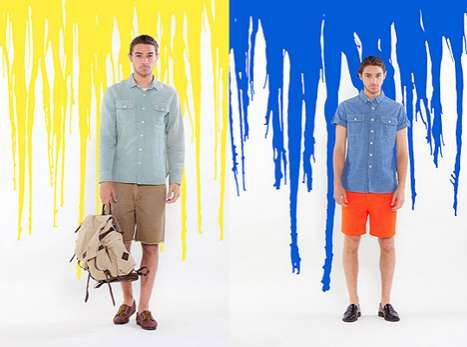 Paint-Splattered Lookbooks