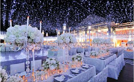 Fairy-Tale Reception Halls - Preston Bailey Creates Whimsical Wedding Worlds