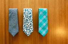 Nifty Retro Neckties - General Knot & Co Gives Men Some Sweet Vintage Accessories