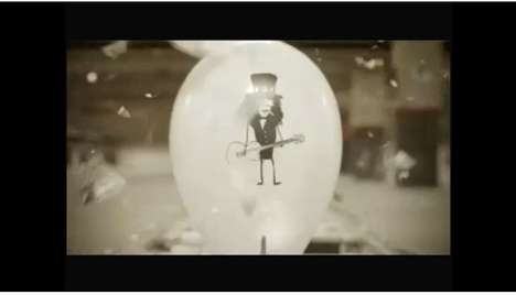 Unbelievable Stop-Motion Ads - The MTV Balloons Commercial is Epically Poptastic