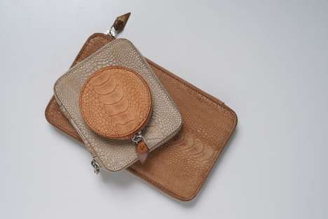 Exotic Leather Accessories - The QUAMTA AW11 Collection Features Luxurious High-Quality Pieces