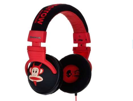 Devilish Monkey Headgear - Skullcandy and Paul Frank Team Up to Make Devil Julius Headphones