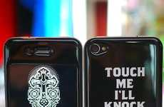 Paisley Smartphone Covers - The Gizmobies x SWAGGER iPhone 4 Case Has Rockstar Appeal