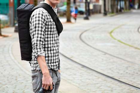 Robin Hood Camera Bags - The Urban Quiver Holds Your Photography Gear Like Bows and Arrows