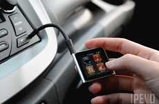 Convenient Car Gadget Mounts - Bendi is the Easiest Way to Enjoy Nano on the Road