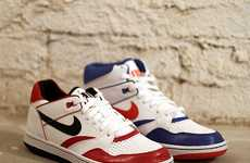 NBA Playoff Sneakers - Nike Sportswear Sky Force Fall Collection Channels the Bulls and Knicks
