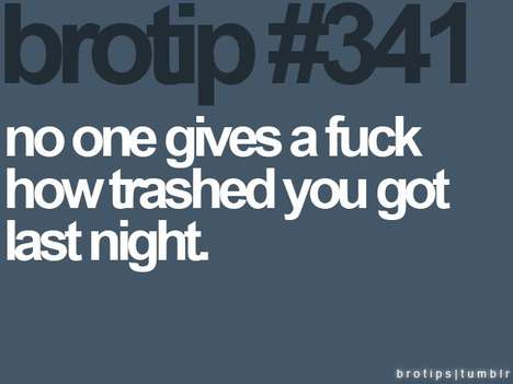 Poignant Bro Memes - Brotip is a Hilarious and Accurate Collection of Advice