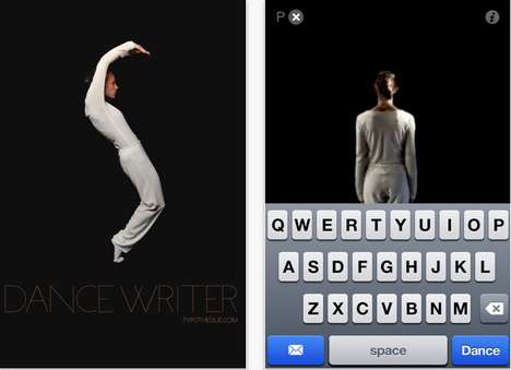 Dancing Typography