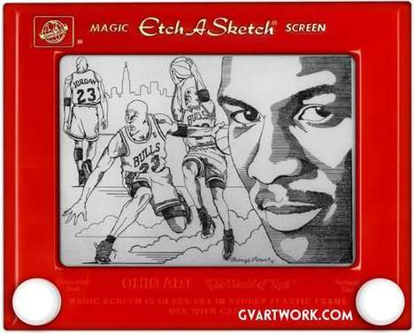 Celeb Etch-a-Sketches