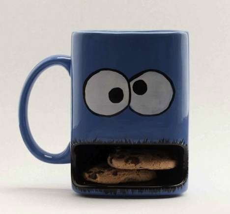Gobbling Cookie Mugs