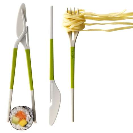 Transforming Utensil Sets