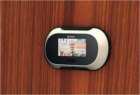 The Brinno Digital Peephole Viewer Shows You Who's At Your Door