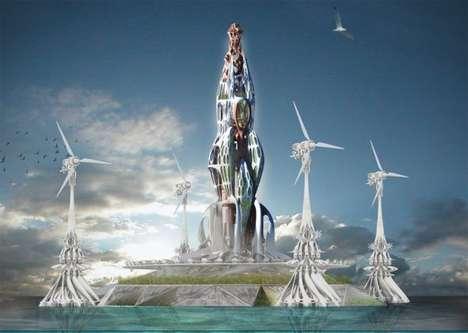 Eco-Friendly Floating Farms