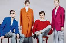 "Bright ""Grown-Up"" Fashions - Bon Magazine Spring Summer Shows Young Models in Adult Clothes"