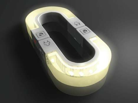 Lucky Horseshoe Lamps - The LED Magnetic Night Light Will Bring You Good Fortune