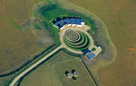 Crop Circle Abodes - Jolson Architecture Designs the Earth House