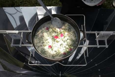Solar Cooking - The Lapin Kulta Solar Kitchen Restaurant Shows that Sunshine Can Cook Food