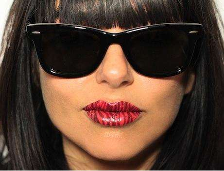 Temporary Lip-Smacking Tattoos - Violent Lips Offers Cosmetic Junkies a Unique Alternative