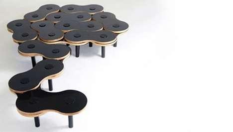 Bike Chain Coffee Tables