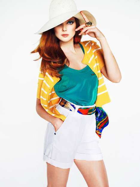 Striped Color-Blocked Fashion