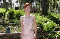 Pop Can Prom Dresses - Maura Pozek Pops With Her Cantastic Gown Made Entirely of Recycled Soda Tabs