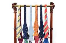 Badass Reversible Bow Ties - Brooks Brothers Release a Line of Outrageous Reversible Bow Ties