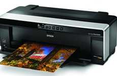 High-Res Printers - Epson Stylus Photo R2000 Ink Jet Printer Brings Print-Store Quality Home
