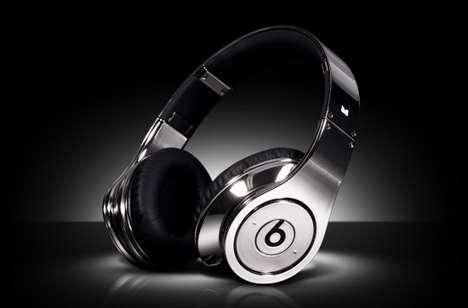 Chromed-Out Headphones