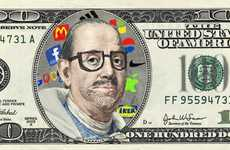 Hipster Pop Art Currency - 'Make Your Franklin' Lets Artists Design Their Own $100 Bill