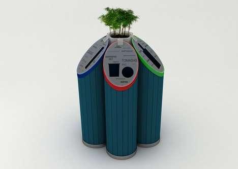 Instructional Eco Bins