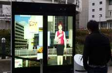 "Life-Size Digital Tour Guides - The Mei-Chan 3D Guide Helps Navigate With ""Human"" Interaction"