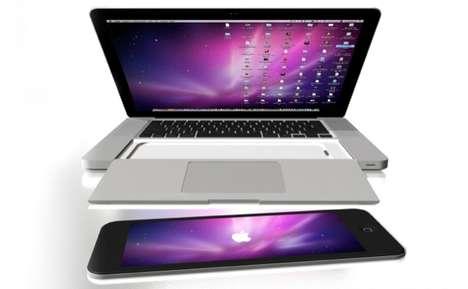 Slide-Out Tablet Trackpads