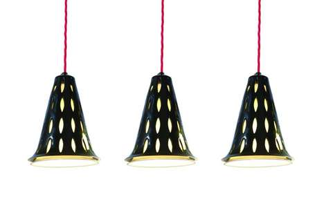 Pierced Porcelain Lighting