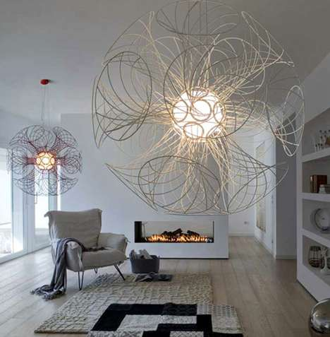 Whimsical Wire Lighting