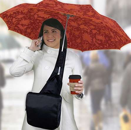 Umbrella-Bearing Bags