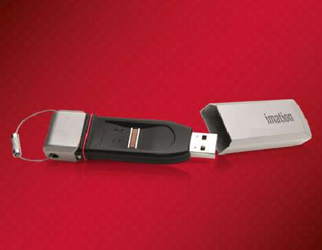 Finger-Swiping Flash Drives