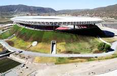Volcano-Shaped Stadiums