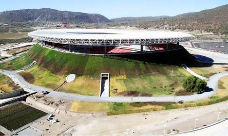 Volcano-Shaped Stadiums - Mexico Unveils Its New Sustainable Soccer Stadium