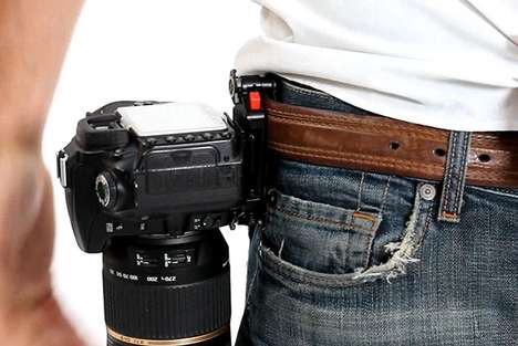 Convenient Camera Holsters